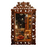 Carved Frame with Mirror