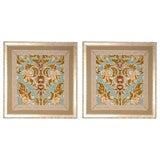 Pair of Italian Velvet Panels C. 1780's