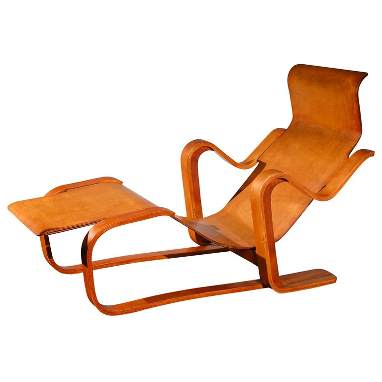 Pre war isokon long chair by marcel breuer at 1stdibs for Breuer chaise lounge
