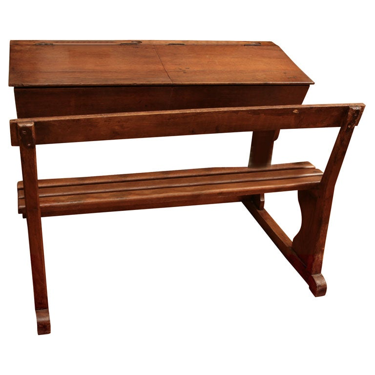 Childs Double Desk At 1stdibs