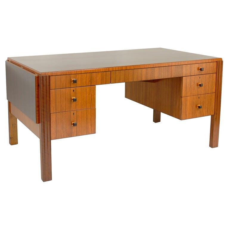 Eugene Schoen Custom Rosewood Desk Circa 1930 At 1stdibs