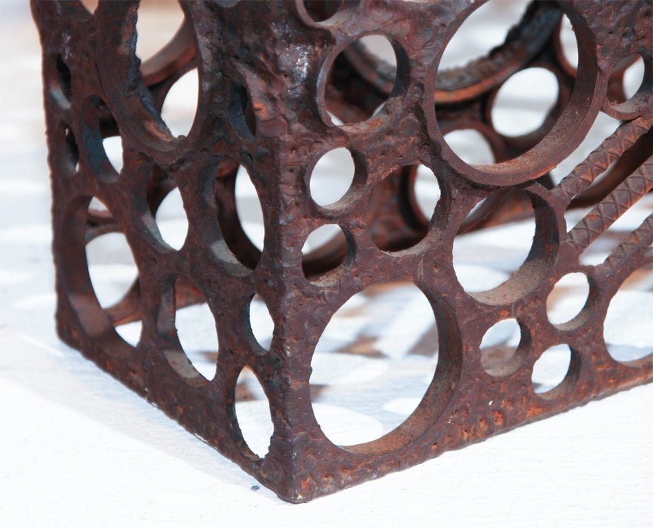 Large Abstract Metal Sculpture For Sale 2