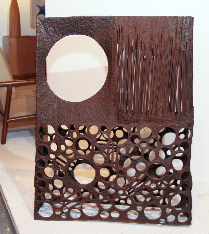 Large Abstract Metal Sculpture In Excellent Condition For Sale In New York, NY