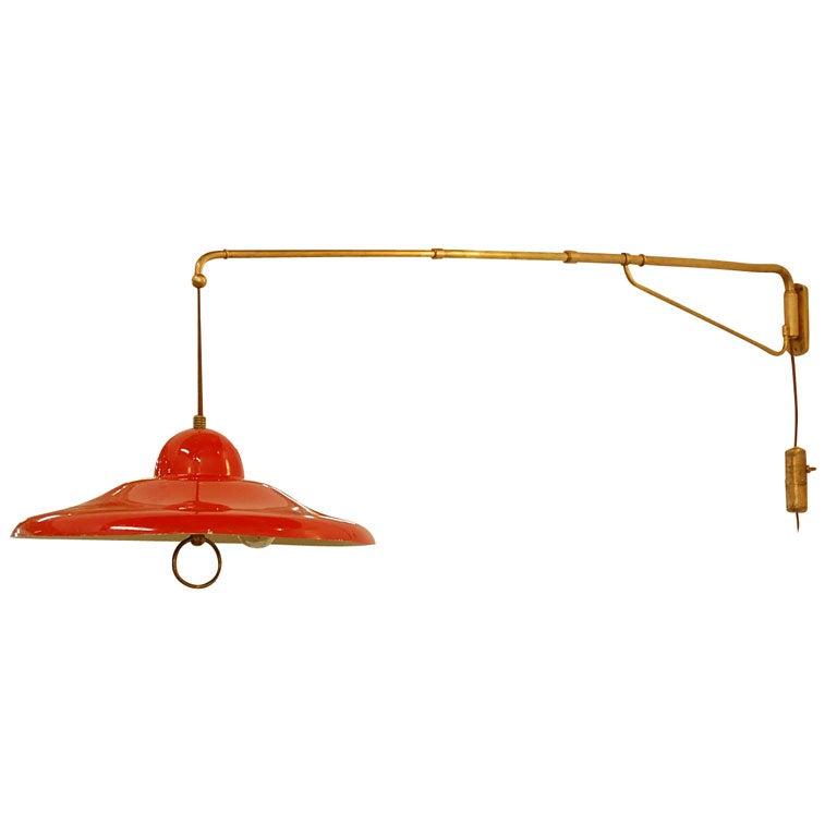 Wall Lamps Adjustable : Stilnovo Adjustable Wall Lamp at 1stdibs