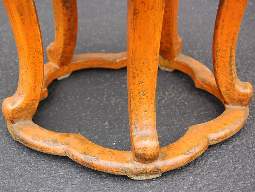 Shanxi Carved Stool At 1stdibs