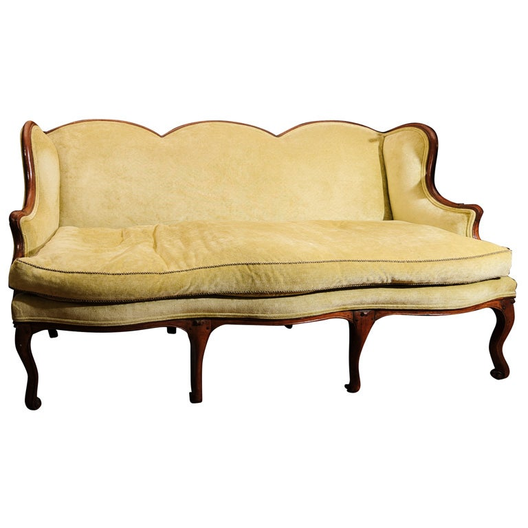 18th century french louis xiv canape at 1stdibs. Black Bedroom Furniture Sets. Home Design Ideas