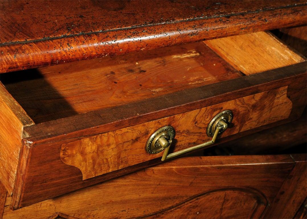 18th Century French Directoire Walnut Vaisselier or Cupboard 1