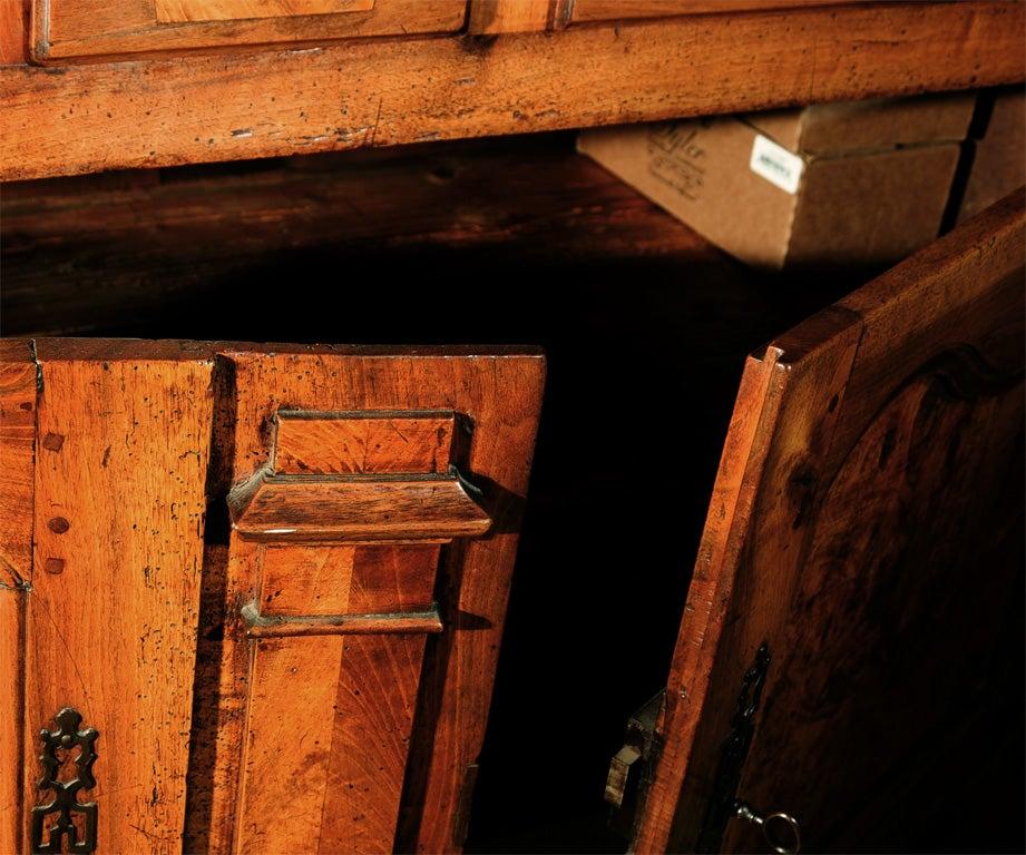 18th Century French Directoire Walnut Vaisselier or Cupboard 2