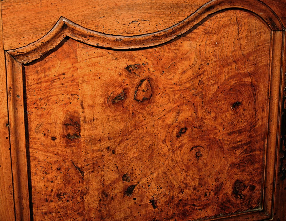 18th Century French Directoire Walnut Vaisselier or Cupboard 4