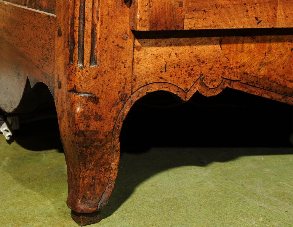 18th Century French Directoire Walnut Vaisselier or Cupboard 5