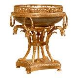 19th Century Crackleware Compote