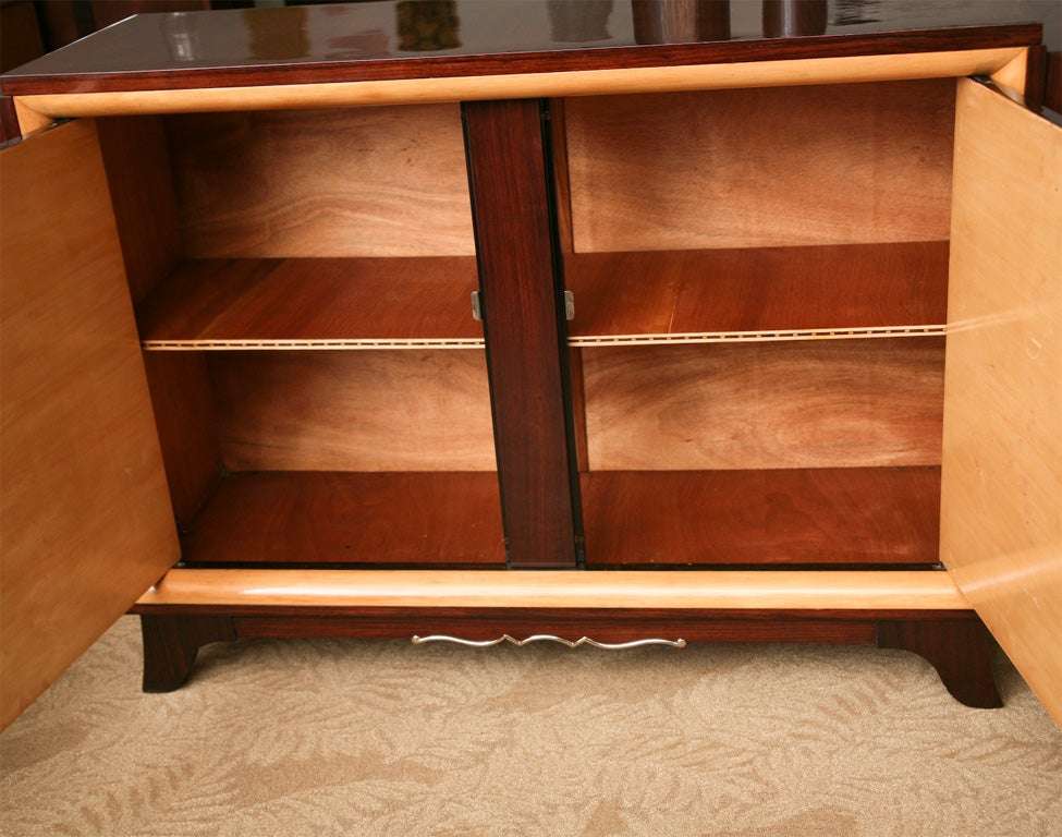 French Art Deco Buffet Server Entertainment Cabinet At