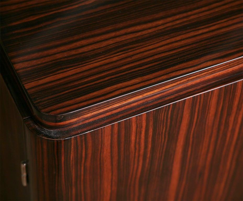 Art Deco Exotic Macassar Ebony Sideboard Buffet Credenza