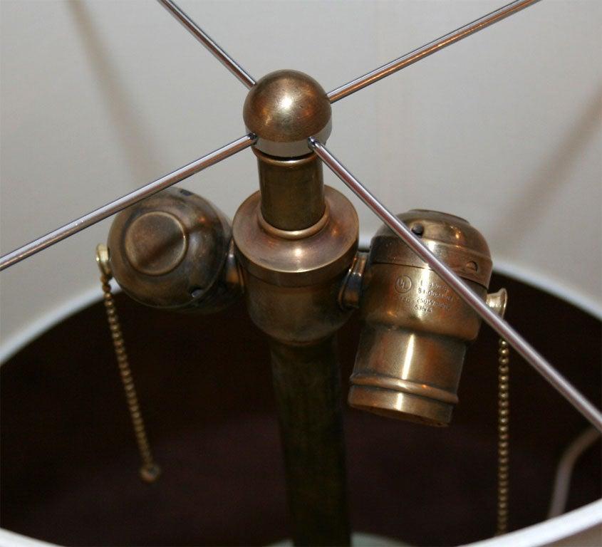 Moorcroft Art Deco pair of ceramicTable Lamps  8