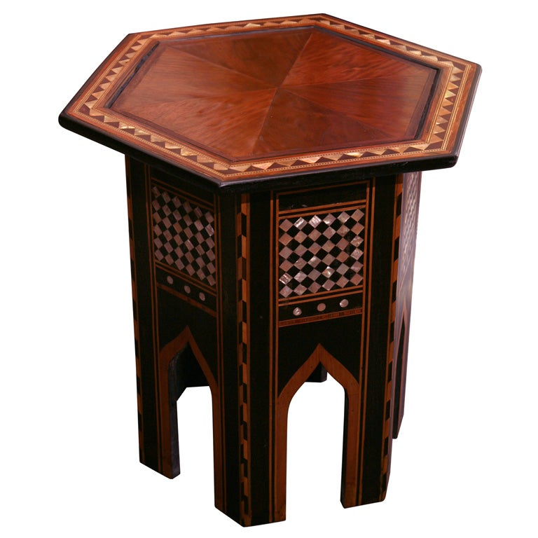 Moroccan side table at 1stdibs : x200906080454 from www.1stdibs.com size 768 x 768 jpeg 66kB