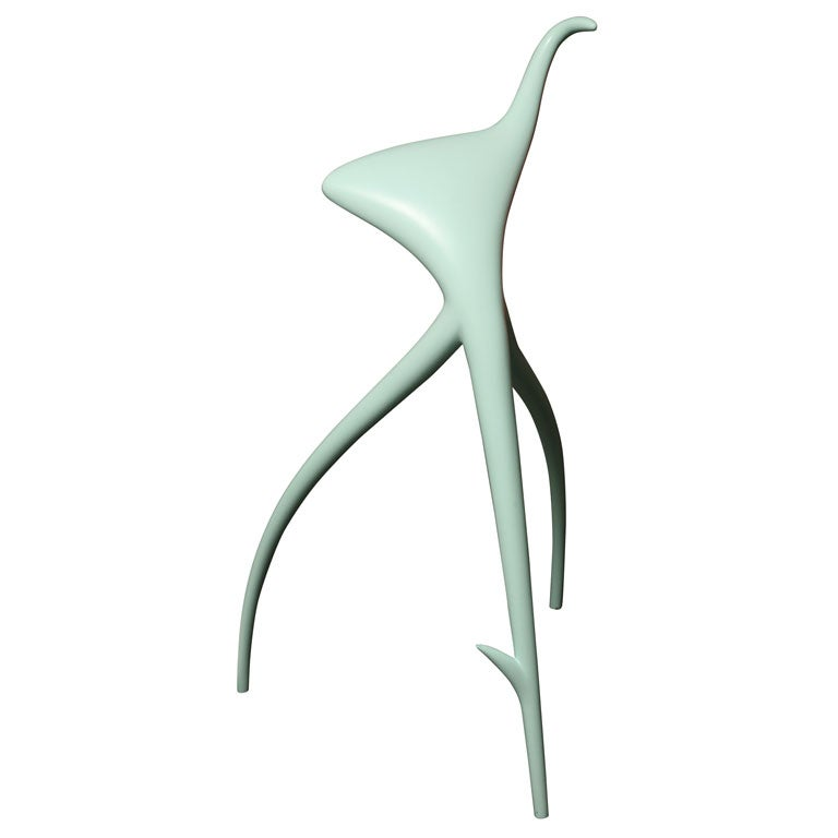 sculptural phillipe starck ww stool at 1stdibs. Black Bedroom Furniture Sets. Home Design Ideas