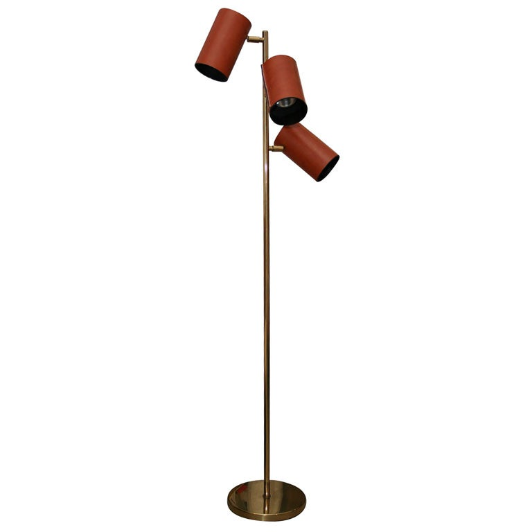 and lowy brass and leather 3 arm floor lamp is no longer available. Black Bedroom Furniture Sets. Home Design Ideas