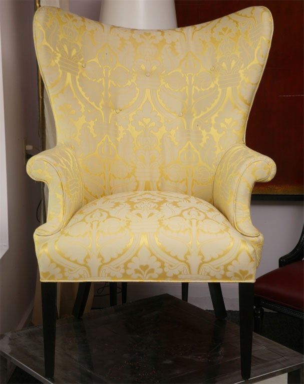 GLAM CHAIR BY SUSANE R IN A FORTUNYLIKE BROCADE