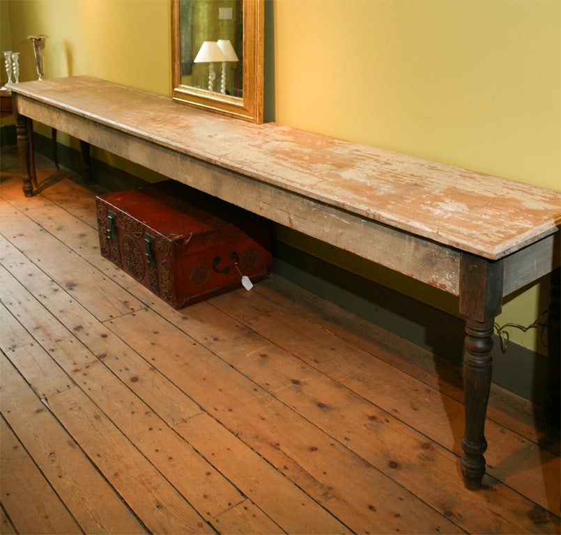 12 Foot Dining Room Table: 12 Foot Long Country Table At 1stdibs