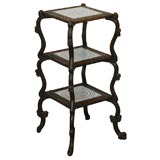 French Three Tier Stand with Tiles