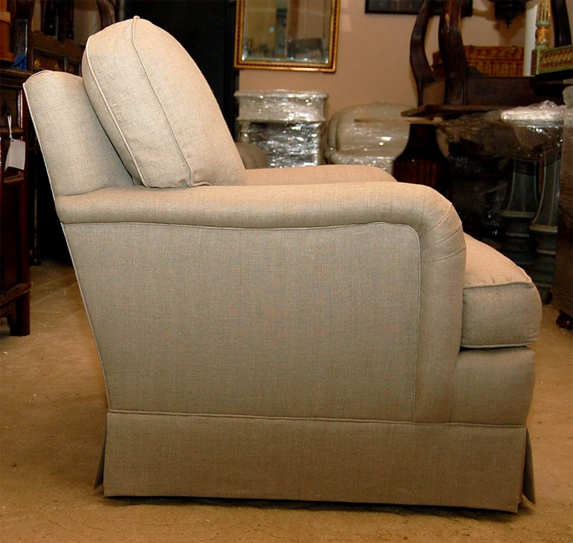 Classic English Style Club Chair At 1stdibs