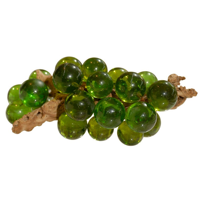 Vintage Italian Glass Grapes At 1stdibs
