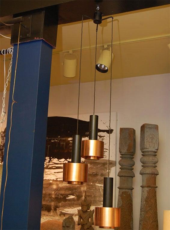 Three Pendant Hanging Light By Stilnovo At 1stdibs