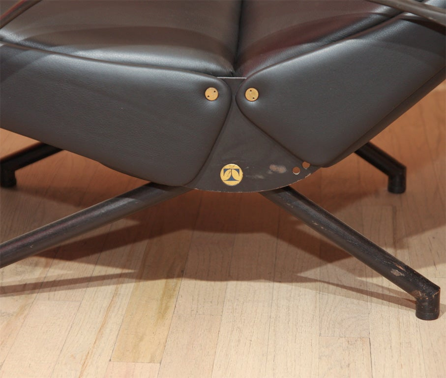 Osvaldo Borsani P40 Lounge Chair for Tecno 3