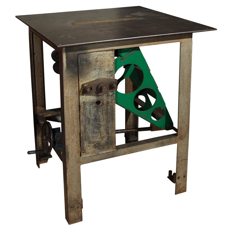 table saw kitchen island or side table at 1stdibs