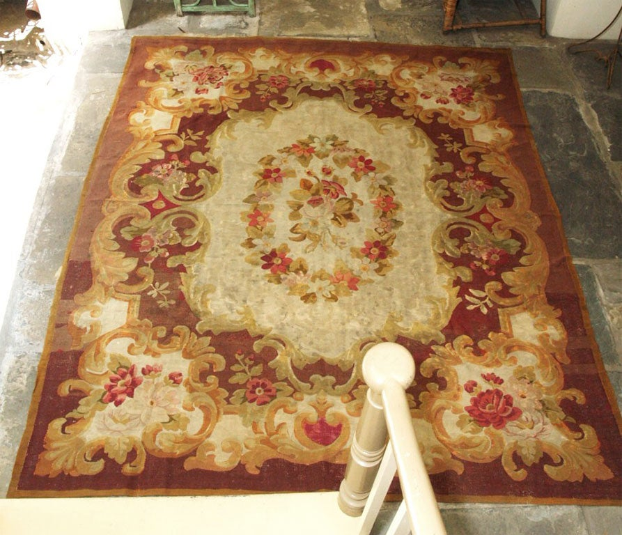 Aubusson Rug Napoleon Iii For Sale At 1stdibs