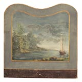 8019 SEASCAPE, OIL ON PANEL, C 1880