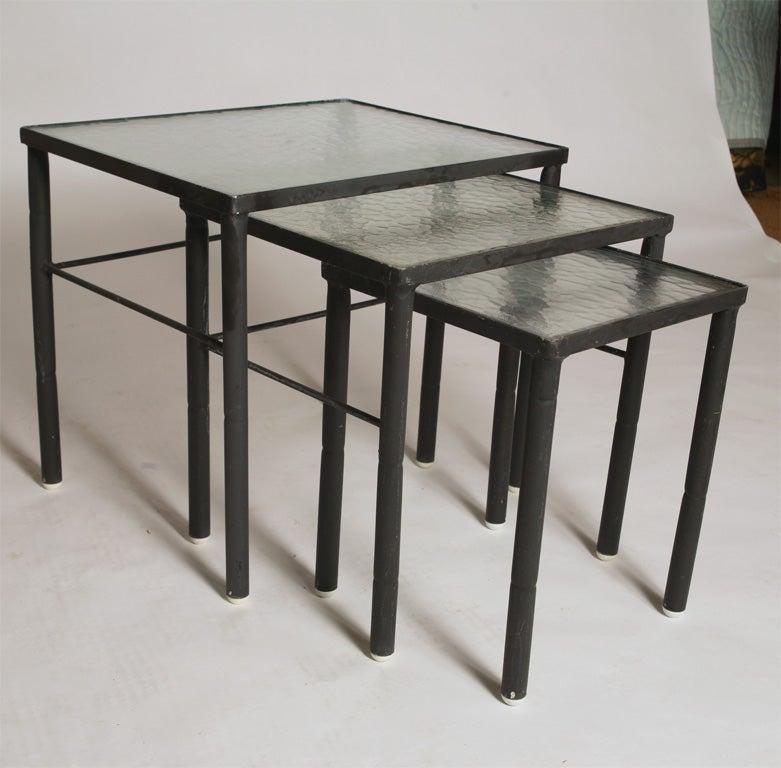 brown jordan outdoor nesting tables 3