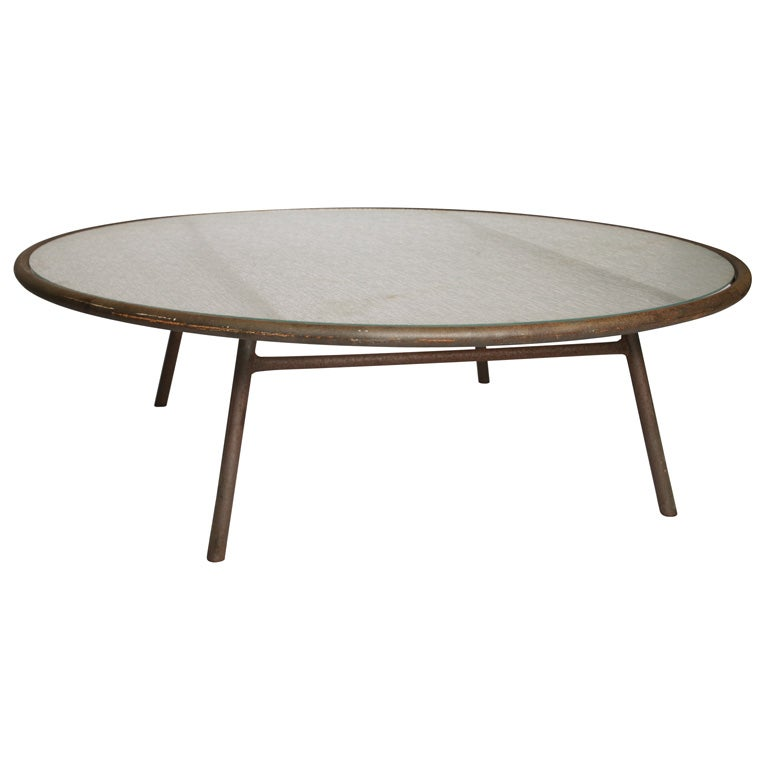 Van Keppel And Green Outdoor Coffee Table At 1stdibs