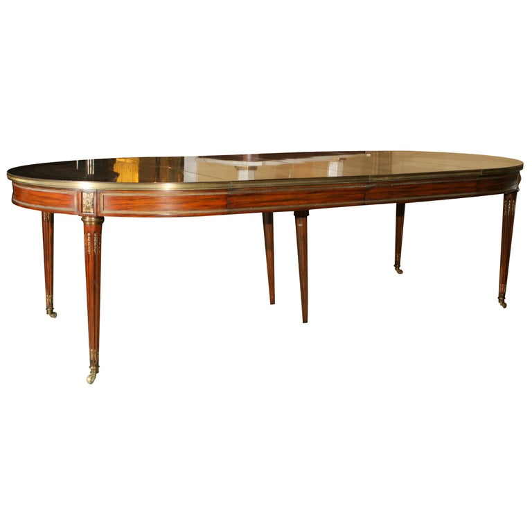 Maison Jansen Stamped Rosewood Dining Table at 1stdibs : IxMG4884 from 1stdibs.com size 768 x 768 jpeg 28kB