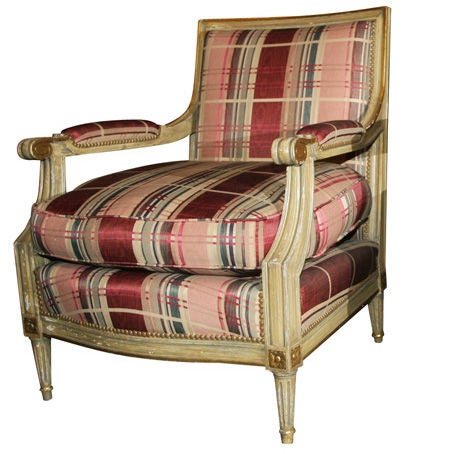 Fabulous French Bergere Chair by Jansen
