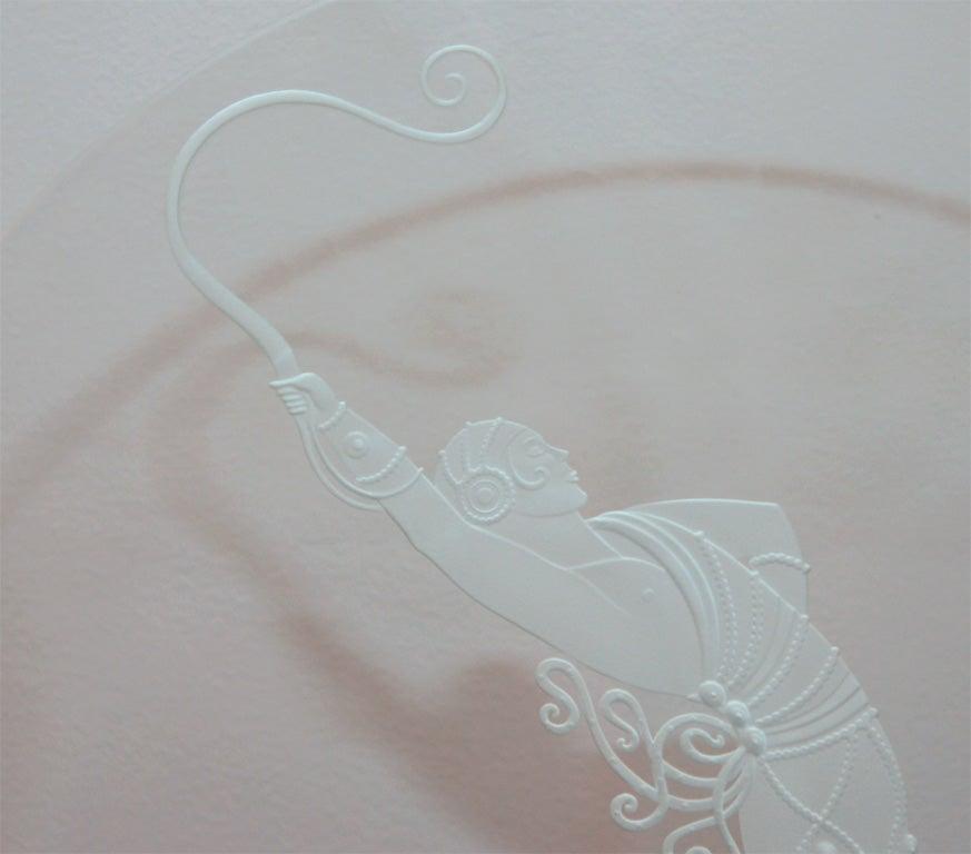 art deco luminaire the dancer by erte at 1stdibs. Black Bedroom Furniture Sets. Home Design Ideas