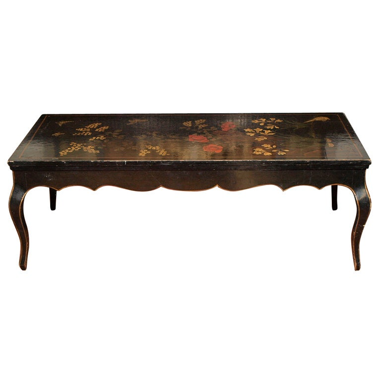 Chinoiserie Coffee Table At 1stdibs