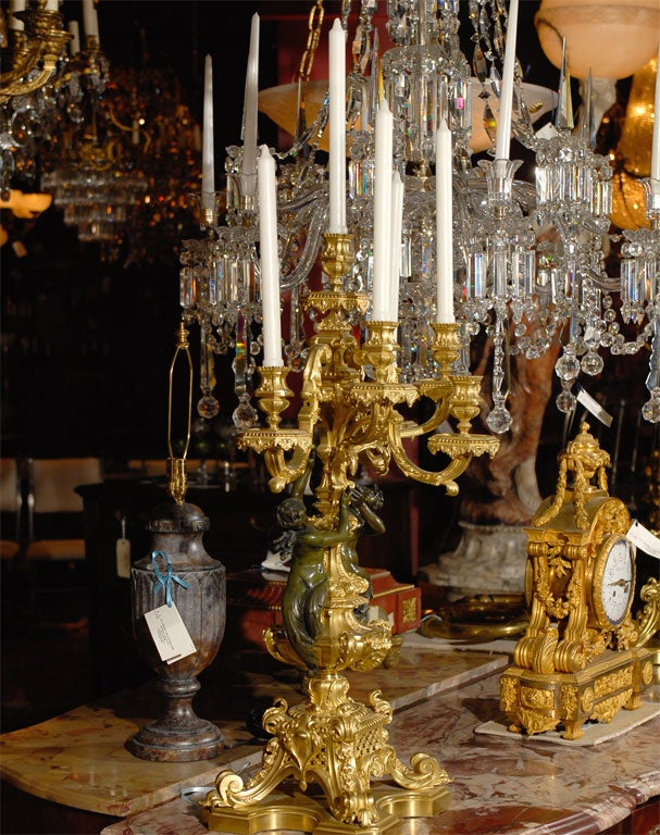 Magnificent pair of candelabra For Sale 1