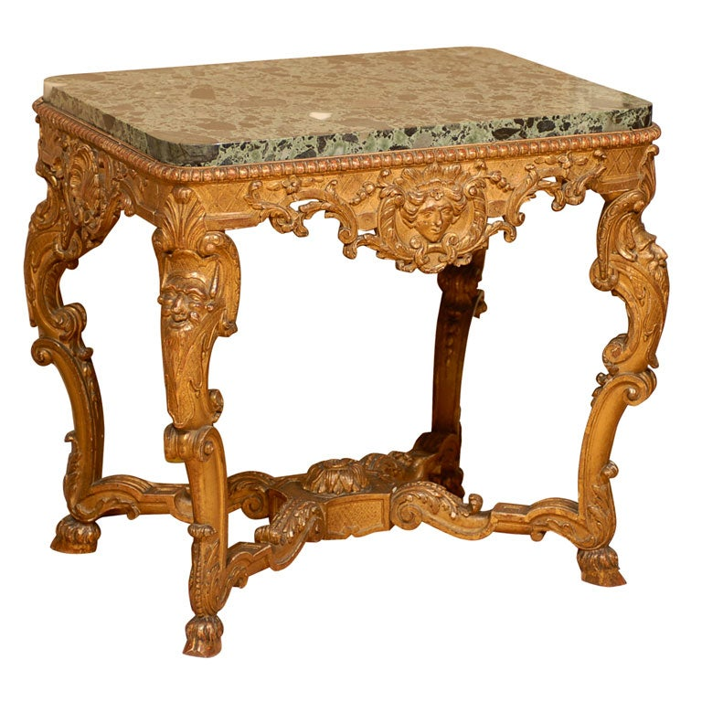 Id F_234608 on Rococo Louis Xv Style Painted Console At 1stdibs