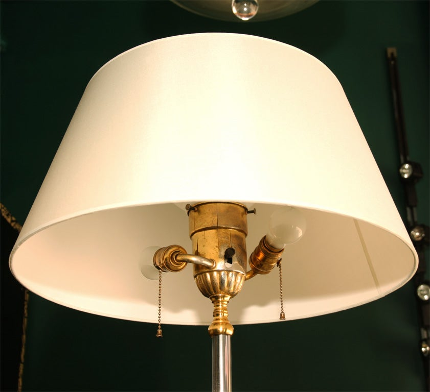 Pair of Dore Bronze Floor Lamps by Mutual Sunset, American ...