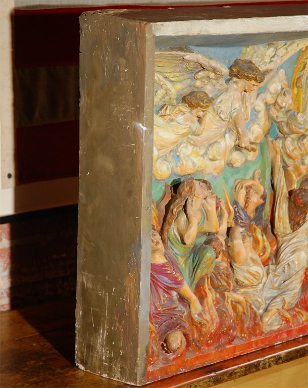 Religious Chalkware Diorama For Sale 2