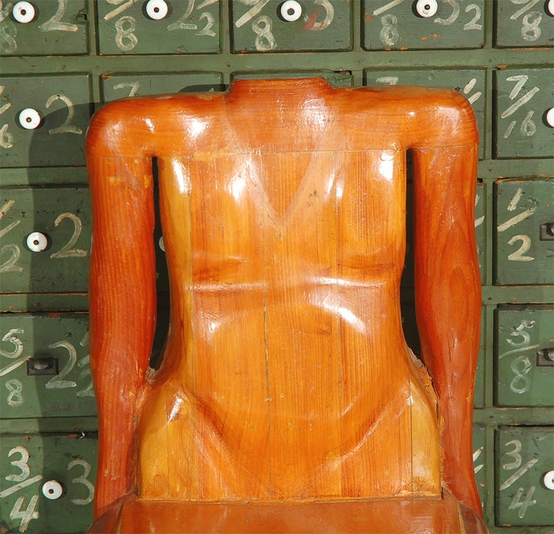 Quirky human form chair for sale at 1stdibs for Quirky items for sale