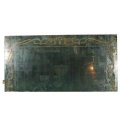 French Eglomise Mirror