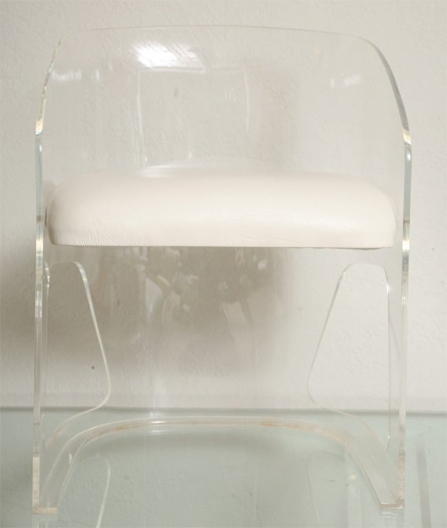 set of six lucite chairs by vladimir kagan 2