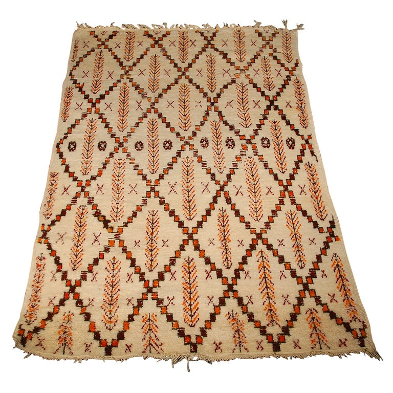 Moroccan Berber Pile Rug For Sale At 1stdibs