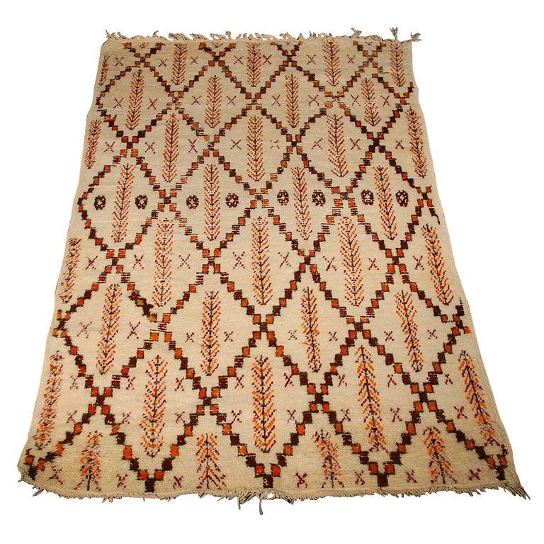 Moroccan Berber Pile Rug At 1stdibs