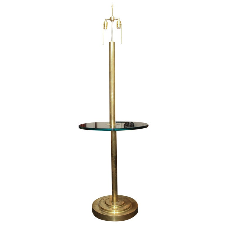 Copper Floor Lamp No Shade At 1stdibs