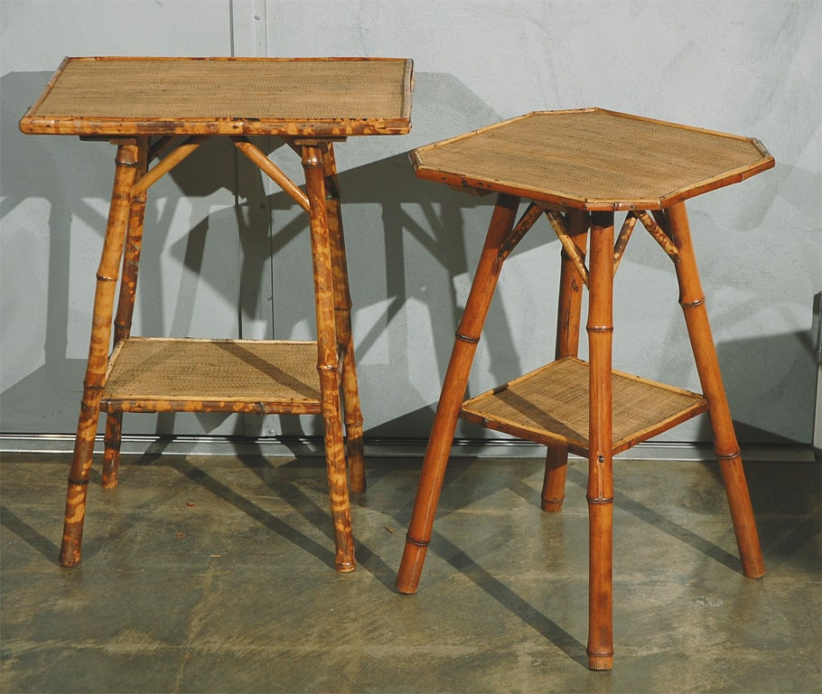 English Antique Bamboo Table At 1stdibs