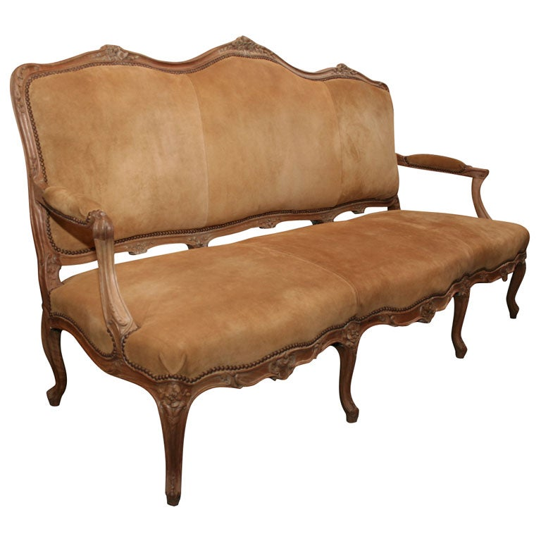 Early 19th Century French Settee