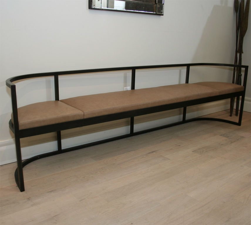 Lucca And Co Custom Made Bench For Sale At 1stdibs